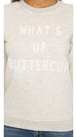 Толстовка Whats Up Buttercup Zoe Karssen                                                                                                              серый цвет
