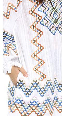 Туника Kalista BCBGMAXAZRIA                                                                                                              белый цвет