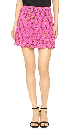 Юбка Tayte От Dvf Diane Von Furstenberg                                                                                                              розовый цвет