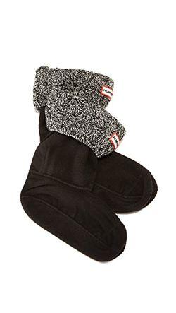 Носки С Отделкой В Виде Косичек Под Hunter Boots                                                                                                              черный цвет