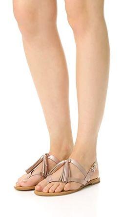 Сандалии На Плоской Подошве Clorinda Kate Spade New York                                                                                                              Розовое Золото цвет