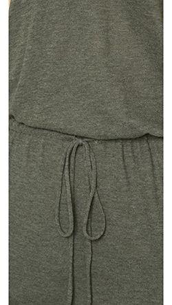 Платье Со Спиной-Борцовкой Lanston                                                                                                              Милитари цвет