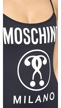Сплошной Купальник Moschino                                                                                                              голубой цвет