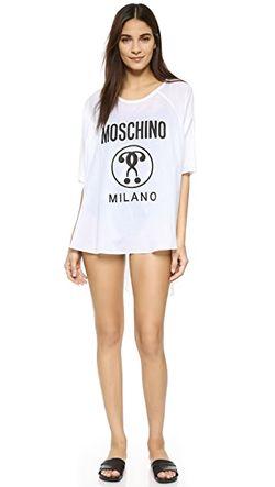 Пляжное Платье Moschino                                                                                                              белый цвет