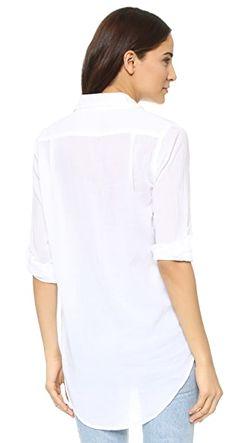 Свободная Рубашка Just Us Sundry                                                                                                              белый цвет