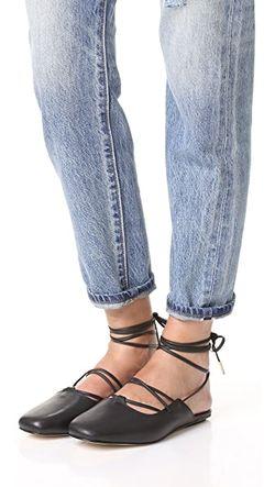 Обувь На Плоской Подошве Lila С Ремешком Tibi                                                                                                              голубой цвет