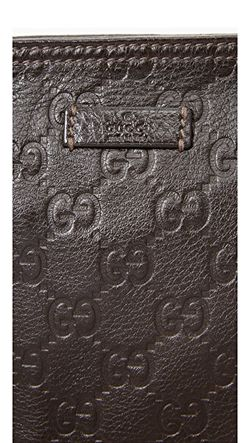 Сумка-Портфель Guccissima От Gucci Бывшая В Употреблении What Goes Around Comes Around                                                                                                              коричневый цвет