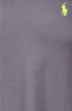Поло Джерси Polo Ralph Lauren                                                                                                              серый цвет