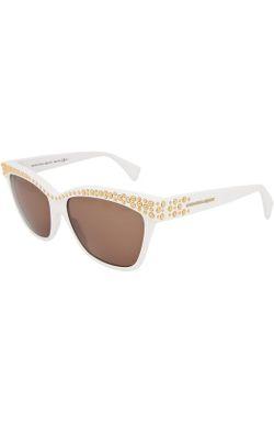 Очки Солнцезащитные Alexander McQueen                                                                                                              Бесцветный цвет
