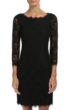 Платье Diane Von Furstenberg                                                                                                              чёрный цвет