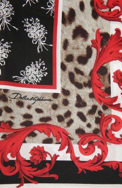 Платок Dolce & Gabbana                                                                                                              коричневый цвет