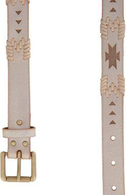 Ремень Polo Ralph Lauren                                                                                                              коричневый цвет