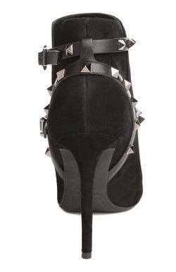 Ботильоны Noir Valentino                                                                                                              чёрный цвет