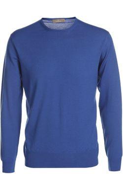 Пуловер Вязаный Cruciani                                                                                                              Бирюзовый цвет