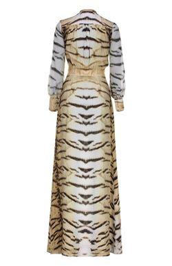 Вечернее Платье Roberto Cavalli                                                                                                              бежевый цвет