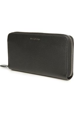 Бумажник Ermenegildo Zegna                                                                                                              чёрный цвет