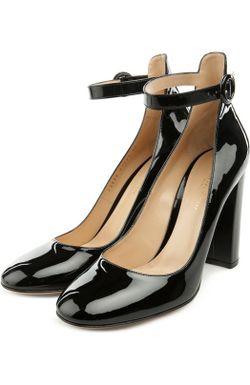 Туфли Gianvito Rossi                                                                                                              черный цвет