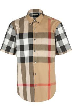 Рубашка Burberry Brit                                                                                                              бежевый цвет