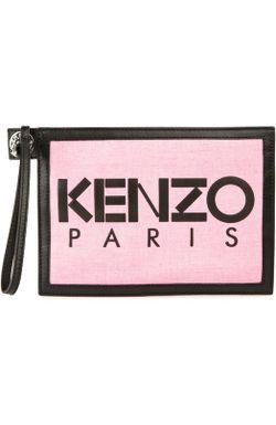 Клатч Kenzo                                                                                                              голубой цвет