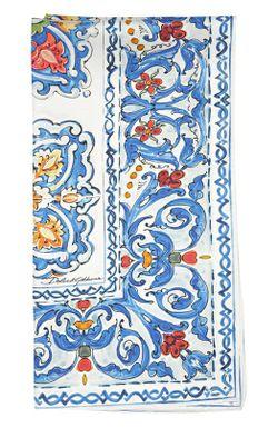 Платок Dolce & Gabbana                                                                                                              синий цвет