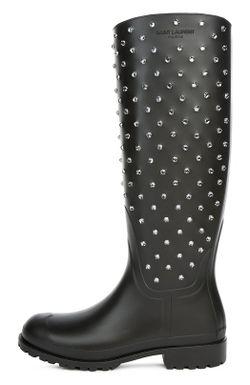 Сапоги Saint Laurent                                                                                                              черный цвет
