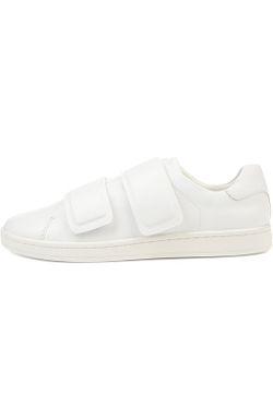 Кожаные Кеды С Широкими Ремнями DKNY                                                                                                              белый цвет