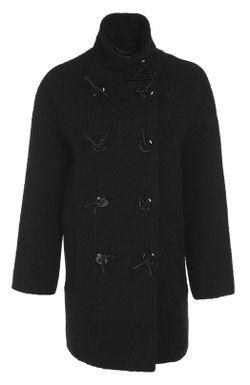 Пальто Прямого Кроя Kenzo                                                                                                              черный цвет