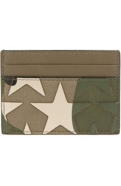 Футляр Для Кредитных Карт Camustars Valentino                                                                                                              зелёный цвет