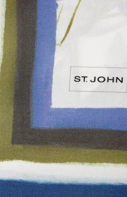 Шелковый Платок С Принтом St. John                                                                                                              многоцветный цвет
