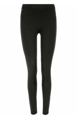 Леггинcы С Отделкой Из Замши Polo Ralph Lauren                                                                                                              чёрный цвет
