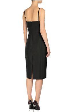 Приталенное Платье На Бретельках Michael Kors                                                                                                              чёрный цвет