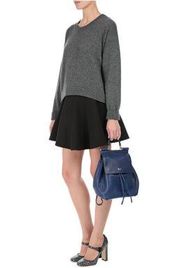 Расклешенная Юбка С Эластичным Поясом Dolce & Gabbana                                                                                                              чёрный цвет