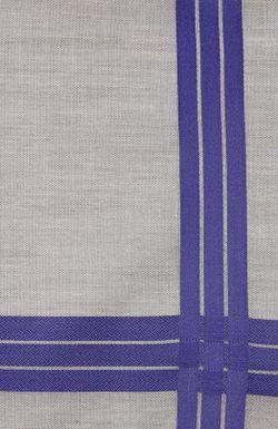 Хлопковый Носовой Платок В Клетку Simonnot-Godard                                                                                                              серый цвет