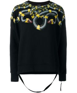 MARCELO BURLON COUNTY OF MILAN | Snake Printed Sweatshirt Xs