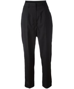 MM6 by Maison Margiela | Mm6 Maison Margiela Tailored Cropped Trousers 40 Viscose/Virgin