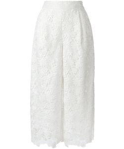 Diane Von Furstenberg | Macramé Cropped Trousers 6 Polyester