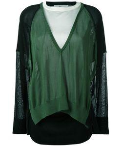 Toga   Colourblock Sweater Womens Size 40 Rayon