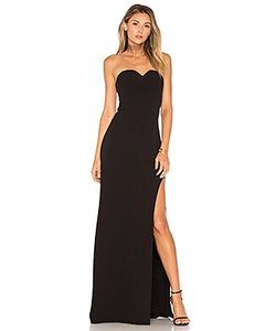 Halston Heritage | High Slit Gown