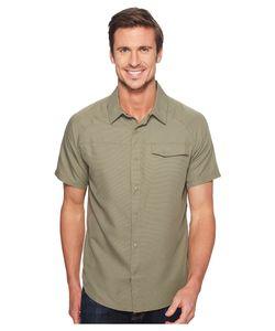 MOUNTAIN HARDWARE | Technician Short Sleeve Shirt Stone Mens Short