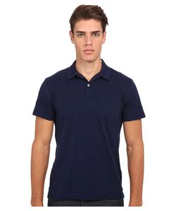 GANT RUGGER | R. Chestpocket Polo Marine Mens Short Sleeve Pullover