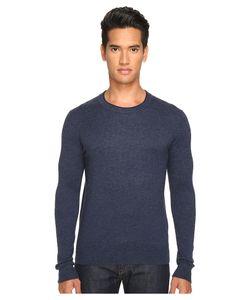 Jack Spade   Jersey Stitch Crew Neck Sweater Dark Mens