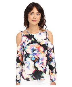 Nicole Miller | Summer Layered Blouse Womens Blouse
