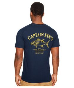 Captain Fin   Fish Market Tee Mens T Shirt