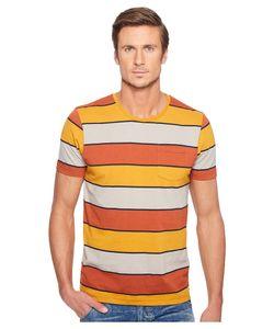 Captain Fin   Howard Short Sleeve Knit Rust Mens Clothing