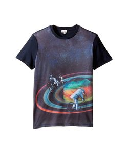 Paul Smith Junior | Short Sleeve All Over Planet Tee Big