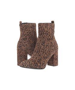 Kennel & Schmenger   Kennel Amp Schmenger Leopard Bootie Leopard Haircalf Womens Boots