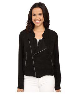 BLANKNYC | Silk Zipper Detail Jacket Womens Jacket