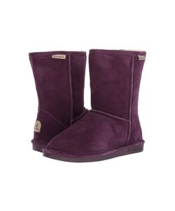 Bearpaw | Emma Short Plum Womens Pull-On Boots