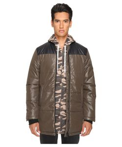 Pyer Moss | Down Bomber Army Mens Coat