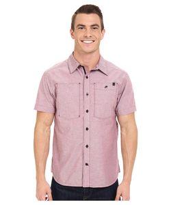 BLACK DIAMOND   Short Sleeve Chambray Modernist Shirt Port Mens Short